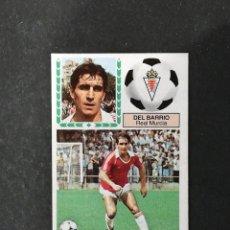 Cromos de Fútbol: MUR DEL BARRIO MURCIA ESTE 1983 1984 83 84 NUEVO SIN PEGAR NUNCA PEGADO. Lote 177238769