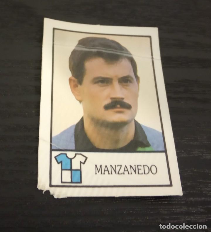 -BOLLYCAO 87-88 : 197 MANZANEDO ( SABADELL ) (Coleccionismo Deportivo - Álbumes y Cromos de Deportes - Cromos de Fútbol)