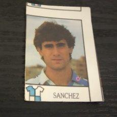 Cromos de Fútbol: -BOLLYCAO 87-88 : 200 SANCHEZ ( SABADELL ) -- ERROR DE CORTE , RAREZA --. Lote 177411304