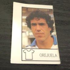 Cromos de Fútbol: -BOLLYCAO 87-88 : 299 OREJUELA ( REAL ZARAGOZA ) -- ERROR DE CORTE , RAREZA -- . Lote 177411480