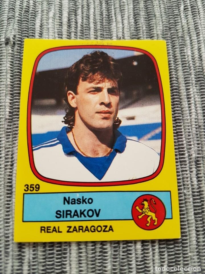 PANINI FUTBOL 89 Nº 359 ZARAGOZA SIRAKOV NUEVO SIN PEGAR (Coleccionismo Deportivo - Álbumes y Cromos de Deportes - Cromos de Fútbol)