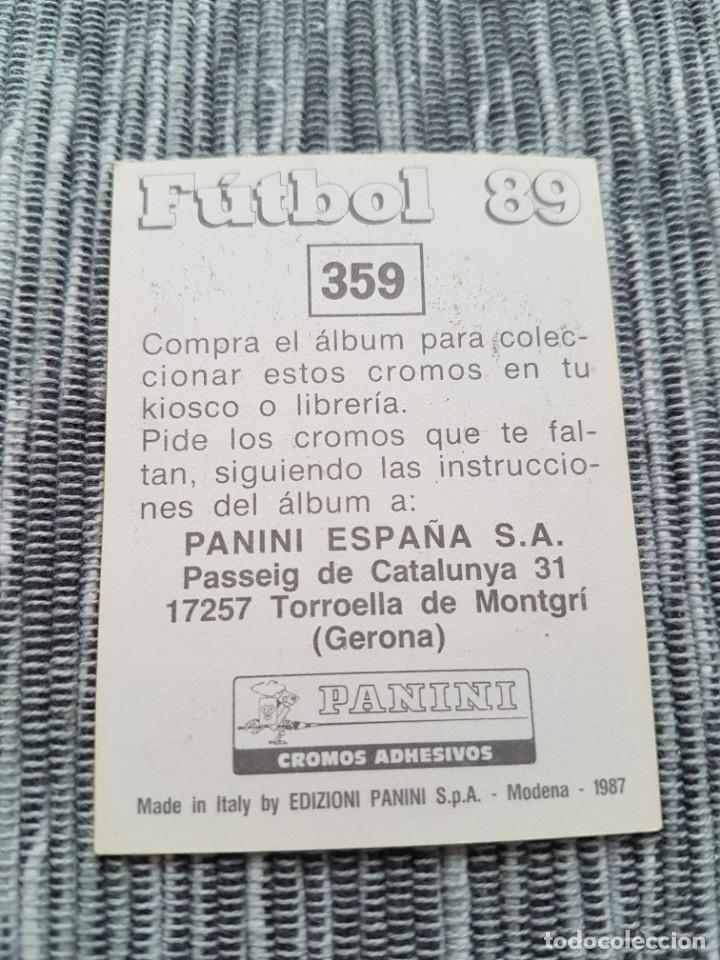 Cromos de Fútbol: PANINI FUTBOL 89 Nº 359 ZARAGOZA SIRAKOV NUEVO SIN PEGAR - Foto 2 - 152039126