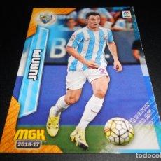 Cromos de Fútbol: MGK 368 JUANPI MALAGA CROMOS ALBUM MEGACRACKS LIGA FUTBOL 2016 2017 16 17. Lote 177651468