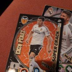 Cartes à collectionner de Football: ADRENALYN XL 2015 2014 15 14 VALENCIA SUPER CRACK ENZO PEREZ 523. Lote 177685350