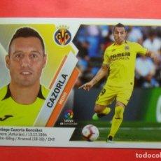 Cromos de Fútbol: LIGA ESTE 2019 2020 - 12 CAZORLA - VILLARREAL - 19 20 - PANINI. Lote 177744850