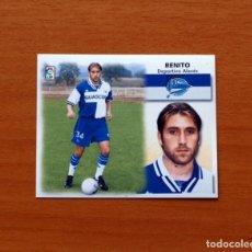 Cromos de Fútbol: ALAVÉS - BENITO - FICHAJE Nº 32 - EDICIONES ESTE 1999-2000, 99-00 - NUNCA PEGADO. Lote 177859719