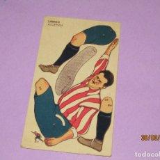 Cromos de Fútbol: CROMO POSTAL FÚTBOL RECORTABLE MONTABLE AÑO 1923-24, SABINO ATLETICH, PUBLI CHOCOLATE AMATLLER. Lote 177958707