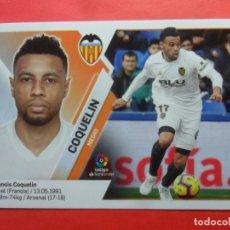 Cromos de Fútbol: LIGA ESTE 2019 2020 - 8 COQUELIN - VALENCIA - 19 20 - PANINI. Lote 178050773