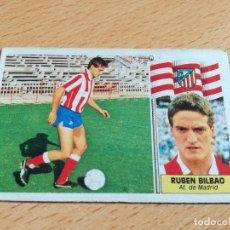 Cromos de Fútbol: EDICIONES ESTE 86/87 – FICHAJE 23 RUBÉN BILBAO - AT. MADRID - 1986/87. VERSIÓN. Lote 178064090