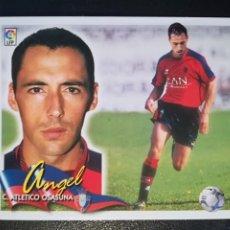 Cromos de Fútbol: ESTE LIGA 00/01 2000/2001 COLOCA ANGEL MUY NUEVO EN VENTANILLA. Lote 178108034
