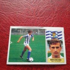 Cromos de Fútbol: BENGOECHEA REAL SOCIEDAD ESTE 86 87 CROMO FUTBOL LIGA 1986 1987 - DESPEGADO - ALB COLOCA. Lote 178168681