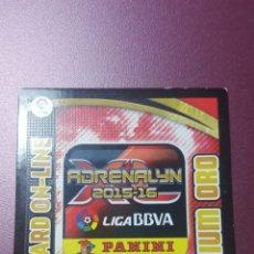 Cromos de Fútbol: CARD ON-LINE. PREMIUM ORO. ADRENALYN 15-16. Lote 178242612