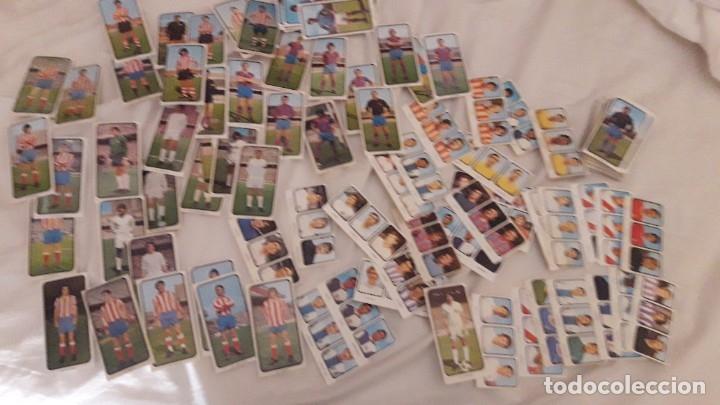 LOTAZO INCREÍBLES DE MÁS DE 200 CROMOS SIN PEGAR Y DIFERENTES DE LA LIGA 1973-74 RUIZ ROMERO (Coleccionismo Deportivo - Álbumes y Cromos de Deportes - Cromos de Fútbol)
