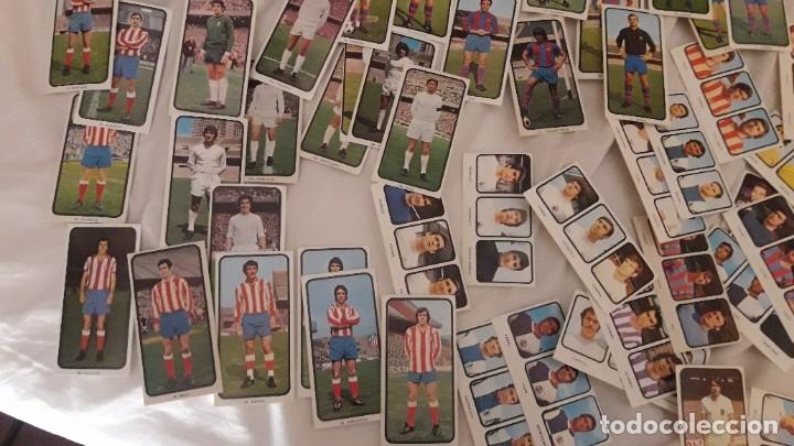 Cromos de Fútbol: LOTAZO INCREÍBLES DE MÁS DE 200 CROMOS SIN PEGAR Y DIFERENTES DE LA LIGA 1973-74 RUIZ ROMERO - Foto 3 - 178270506