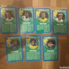Cromos de Fútbol: SET LOTE DE 7 CROMOS DE FÚTBOL DE TOP TRUMPS: HENRY, BECKHAM, DROGBA.... Lote 178359168