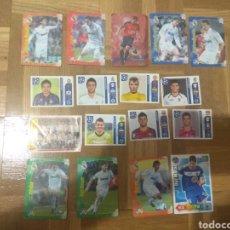 Cromos de Fútbol: SET LOTE DE 17 CROMOS DE FÚTBOL DE DISTINTAS COLECCIONES: MADRID, CRISTIANO RONALDO, CHAMPIONS.... Lote 178362477