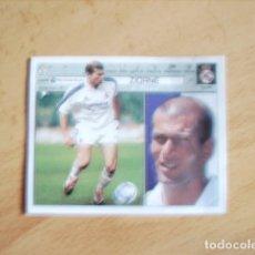 Cromos de Fútbol: ESTE 01-02 ZIDANE R.MADRID --RECORTADO-- CROMO DIFICIL. Lote 178563895