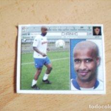 Cromos de Fútbol: ESTE 01-02 COLOCA CHAINHO ZARAGOZA --VENTANILLA-- . Lote 178564075