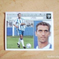 Cromos de Fútbol: ESTE 01-02 COLOCA LITOS MALAGA --VENTANILLA--. Lote 178564932