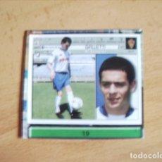 Cromos de Fútbol: ESTE 01-02 U.F Nº19 GALLETTI ZARAGOZA --RECORTADO--. Lote 178565892