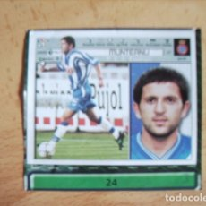 Cromos de Fútbol: ESTE 01-02 U.F Nº24 MUNTEANU ESPAÑOL --RECORTADO-. Lote 178567160