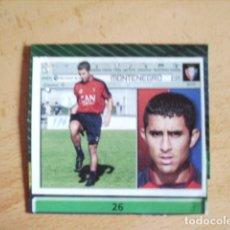 Cromos de Fútbol: ESTE 01-02 U.F Nº26 MONTENEGRO OSASUNA --RECORTADO--. Lote 178567507