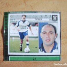 Cromos de Fútbol: ESTE 01-02 U.F Nº28 MANEL TENERIFE --RECORTADO--. Lote 178567766