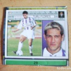 Cromos de Fútbol: ESTE 01-02 U.F Nº29 TURU FLORES VALLADOLID --RECORTADO-- LEER. Lote 178568033