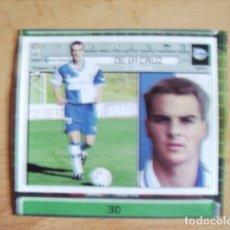 Cromos de Fútbol: ESTE 01-02 U.F Nº30 DE LA CRUZ ALAVES RECORTADO LEER. Lote 178568762
