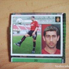 Cromos de Fútbol: ESTE 01-02 U.F Nº33 CRISTIAN DIAZ MALLORCA --RECORTADO--. Lote 178569168