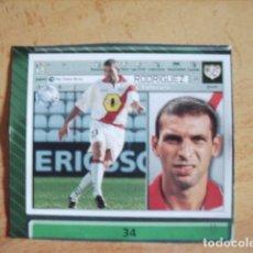 Cromos de Fútbol: ESTE 01-02 U.F Nº34 RODRIGUEZ RAYO --RECORTADO--LEER. Lote 178569378