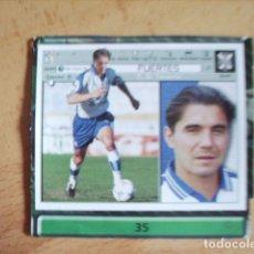 Cromos de Fútbol: ESTE 01-02 U.F Nº35 FUERTES TENERIFE --RECORTADO-- LEER. Lote 178570635