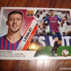 Cromos de Fútbol: CROMO DE FUTBOL LIGA 2019-2020 N.5 LENGLET BARCELONA. Lote 178682382