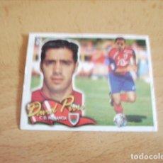Cromos de Fútbol: ESTE 00-01 COLOCA DAVID PIRRI NUMANCIA -- VENTANILLA CON TODA LA TRASERA--. Lote 178729340