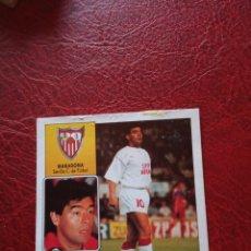 Cromos de Fútbol: MARADONA SEVILLA ESTE 92 93 CROMO FUTBOL LIGA 1992 1993 - DESPEGADO - 1236 COLOCA. Lote 178758775