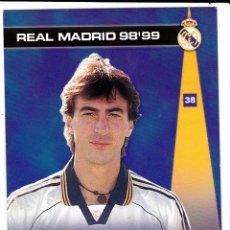 Cromos de Fútbol: 38 AMAVISCA - COLECCION PHOTOCARD REAL MADRID CF PANINI 98 99. Lote 178809715