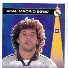 Cromos de Fútbol: 39 IVAN CAMPO - COLECCION PHOTOCARD REAL MADRID CF PANINI 98 99. Lote 178809810