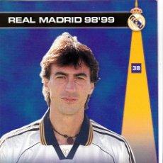 Cromos de Fútbol: 38 AMAVISCA - COLECCION PHOTOCARD REAL MADRID CF PANINI 98 99. Lote 178809908