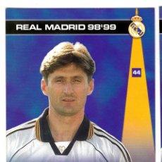 Cromos de Fútbol: 44 JARNI - COLECCION PHOTOCARD REAL MADRID CF PANINI 98 99. Lote 178810621