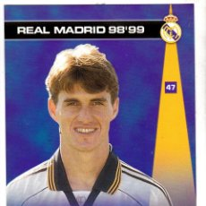 Cromos de Fútbol: 47 SAVIO - COLECCION PHOTOCARD REAL MADRID CF PANINI 98 99. Lote 178810711