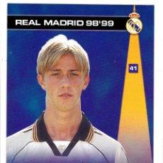 Cromos de Fútbol: 41 GUTI - COLECCION PHOTOCARD REAL MADRID CF PANINI 98 99. Lote 178810768