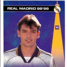 Cromos de Fútbol: 42 MORIENTES - COLECCION PHOTOCARD REAL MADRID CF PANINI 98 99. Lote 178815253