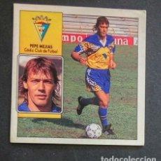 Cromos de Fútbol: PEPE MEJÍAS CADIZ BAJA RECUPERADO ESTE 92 93 1992 1993. Lote 178820125