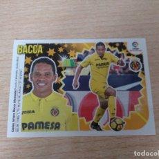 Cromos de Fútbol: LIGA ESTE 2018 2019 18 19 COLOCA Nº14B 14 B BACCA VILLARREAL ( 4ª EDICION ) PANINI NUEVOS. Lote 178821173