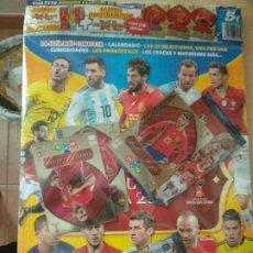 Cromos de Fútbol: ESPECIAL REVISTA JUGON GUIA MUNDIAL RUSIA 2018+3 CARDS EDICION LIMITADA ADRENALYN XL + 2 SOBRES. Lote 178821373