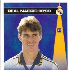 Cromos de Fútbol: 47 - SAVIO - COLECCION PHOTOCARD REAL MADRID CF PANINI 98 99. Lote 178827680