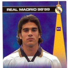 Cromos de Fútbol: 51 -ÁLVARO- COLECCION PHOTOCARD REAL MADRID CF PANINI 98 99. Lote 178827823