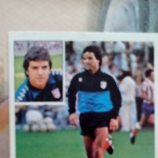 Cromos de Fútbol: MEJIAS COLOCA DEL AT.MADRID LIGA 81/82. Lote 178856216