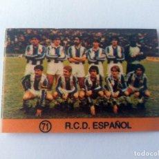 Cromos de Fútbol: CROMO LIGA 83 84 - MATEO MIRETE - R. C. D. ESPAÑOL. Lote 178872065