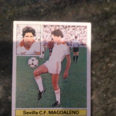 Cromos de Fútbol: EDICIONES ESTE CAMPEONATO LIGA 81 - 82 SEVILLA C.F MAGDALENO. Lote 178886038